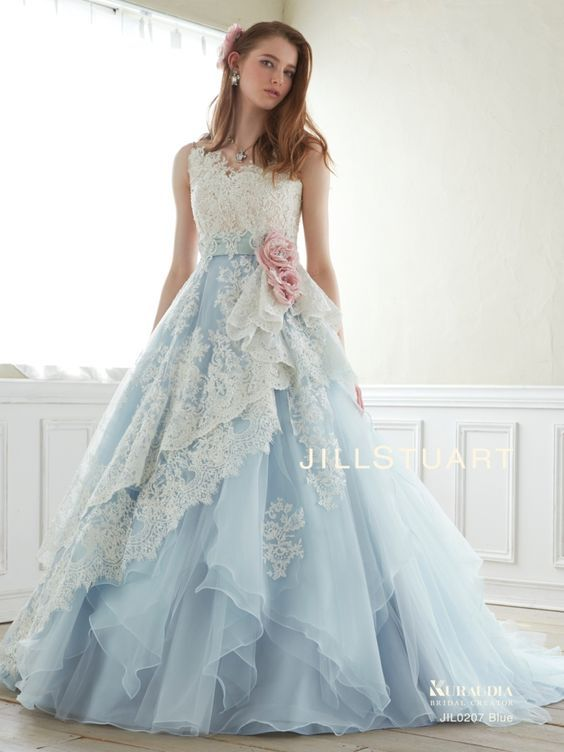 Vestidos de xv años azul cielo | Pinterest | Gowns, Prom and ...