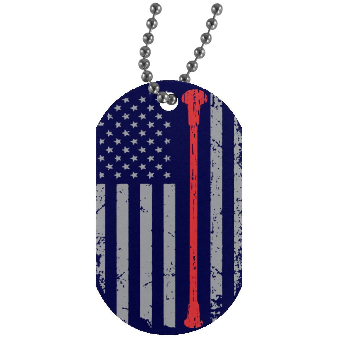 American Majorette Batons Dog Tag