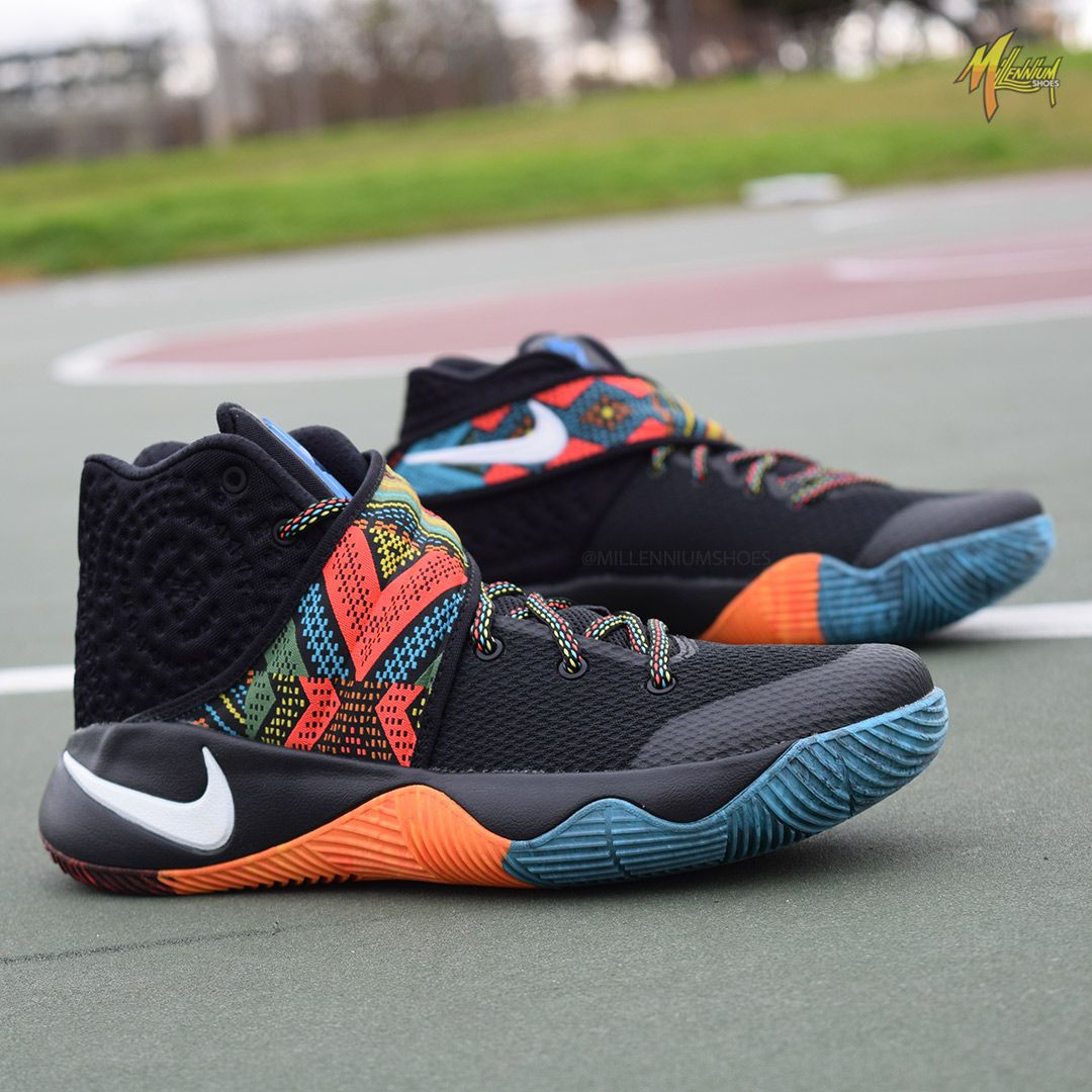 premium selection 5f11c bd5b7 Nike celebrates Black History Month with the release of the BHM collection.  Pictured here, the Kyrie 2. Available now at MillenniumShoes.com
