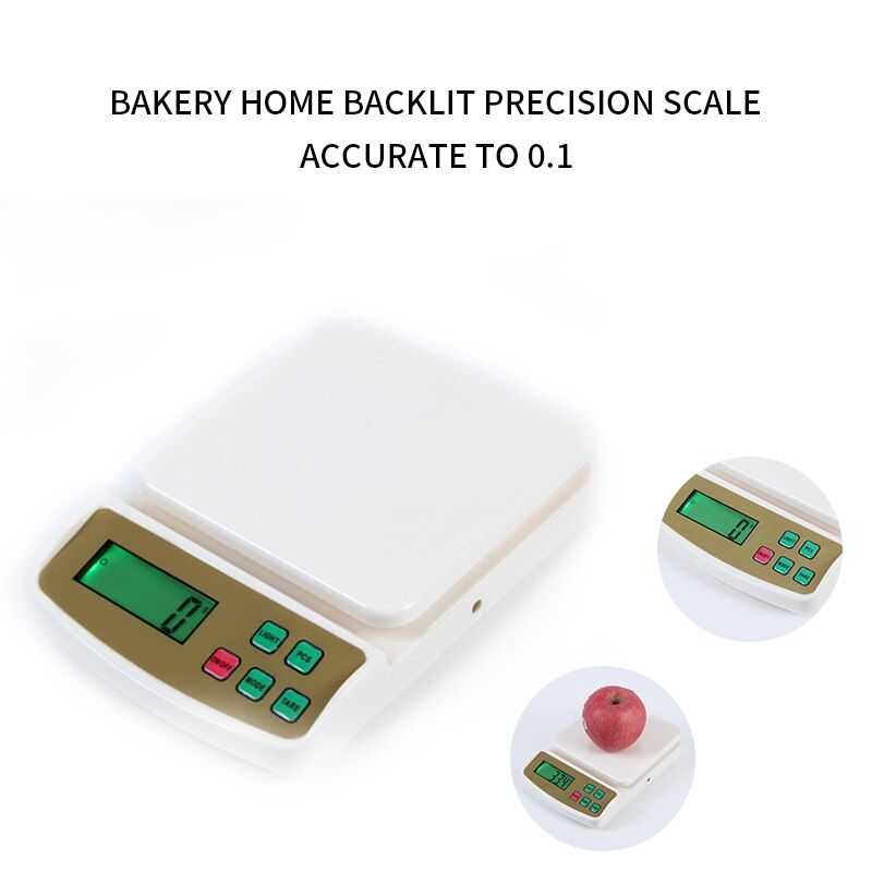 10kg 1g Libra Digital Kitchen Scales Counting Weighing Electronic