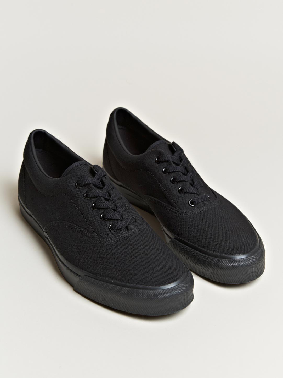 b6eb4db0fcafb1 Comme Des Garçons Homme + Men s Canvas Shoes