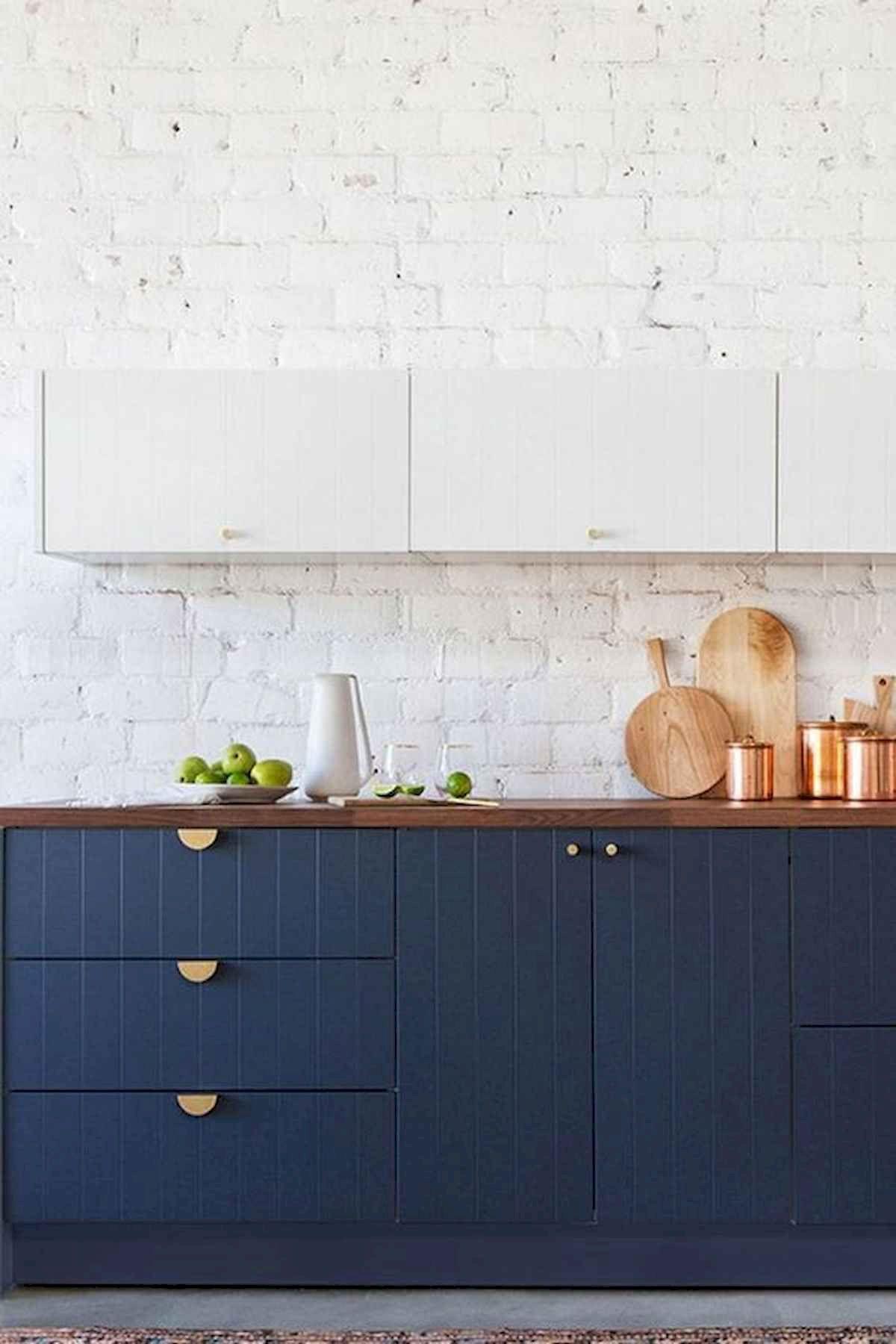 40 Elegant Two Tone Kitchen Cabinet Landelijke Keuken Keuken Huis