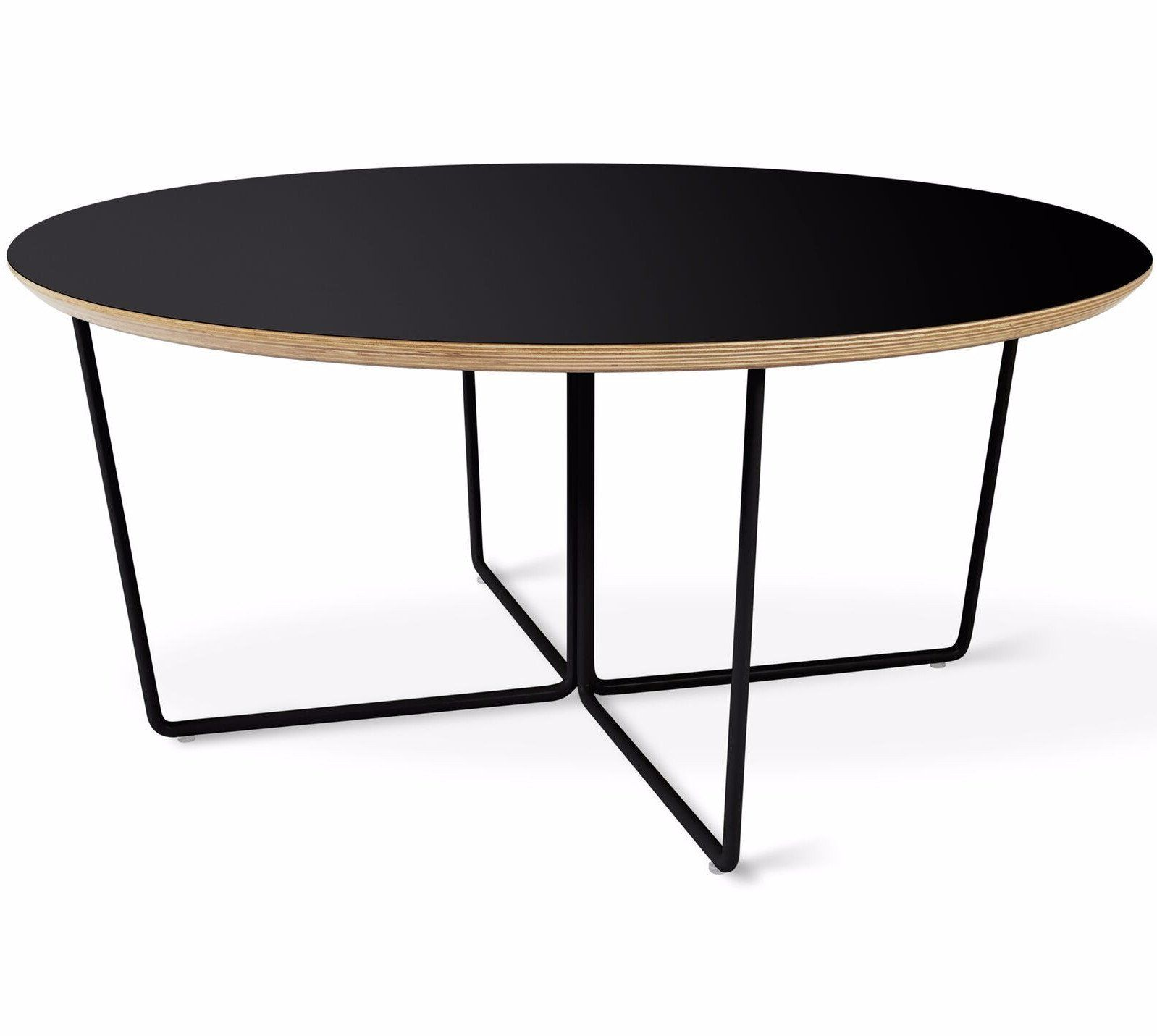 Array Round Coffee Table In Black Design By Gus Modern Coffee Table Round Coffee Table Oval Coffee Tables [ 1431 x 1598 Pixel ]