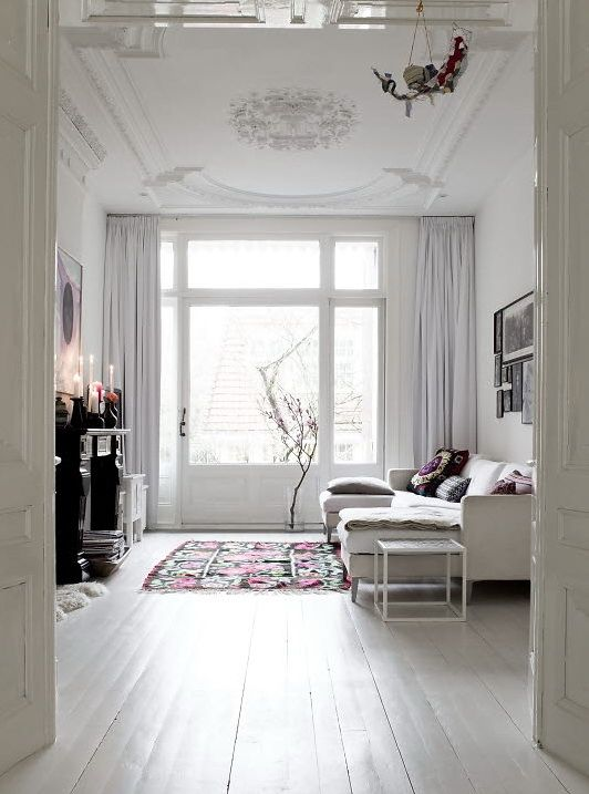 myidealhome white painted wooden floor (by Nordic Bliss) Newhome