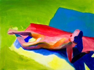 "Saatchi Art Artist Winston Chmielinski; Painting, ""SOLD Low-Fi Hi Time"" #art"