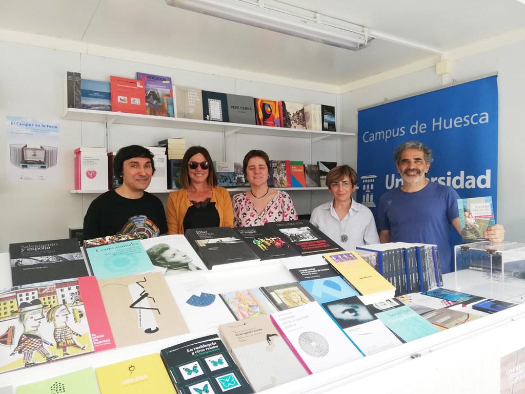 Participación De Las Bibliotecas Del Campus De Huesca Universidad De Zaragoza En La Feria Del Libro De Huesca 2019