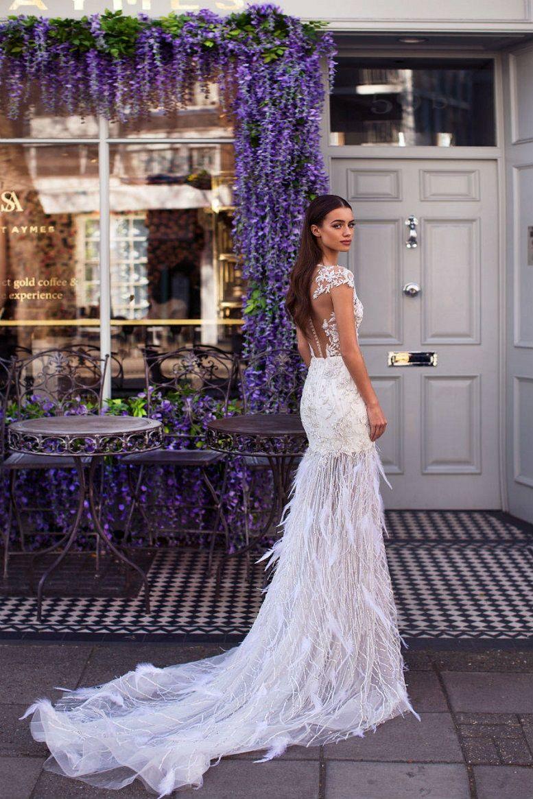 Milla Nova Blooming London Bridal Collection, Mermaid wedding dress,wedding dresses,beautiful wedding dress,nude wedding dress, heavy embellishment wedding dress #weddingdress #weddinggown