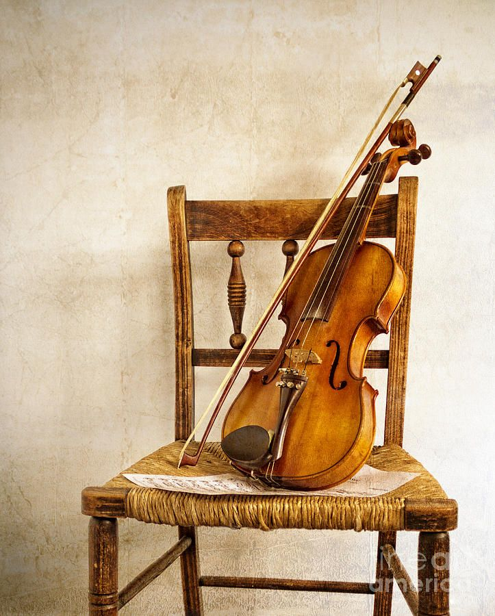 Vintage+violin | The Old Violin Photograph - The Old Violin