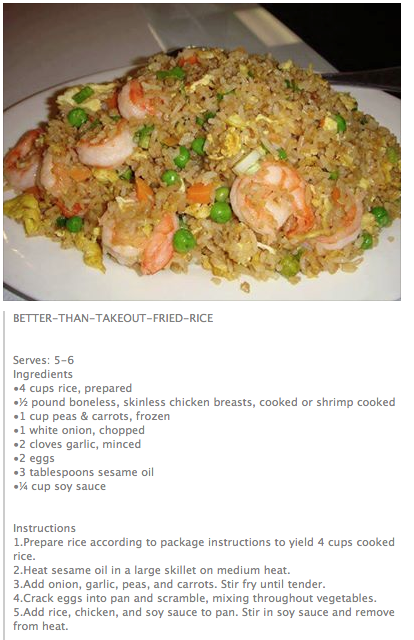 Better than takeout fried rice isnt that interesting better than takeout fried rice was exceptionally easy but i didnt quite get the flavor i was looking for probably the lack of msg ccuart Gallery