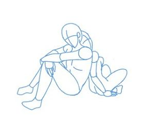 Anime Pose Reference Blog Poses Male And Female Back To Back Anime Poses Reference Drawing Poses Anime Poses