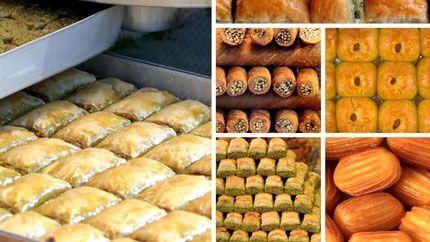 اشهى الحلويات العربية حلويات شرقية بالصور Lebanese Desserts Turkish Recipes Arabic Food