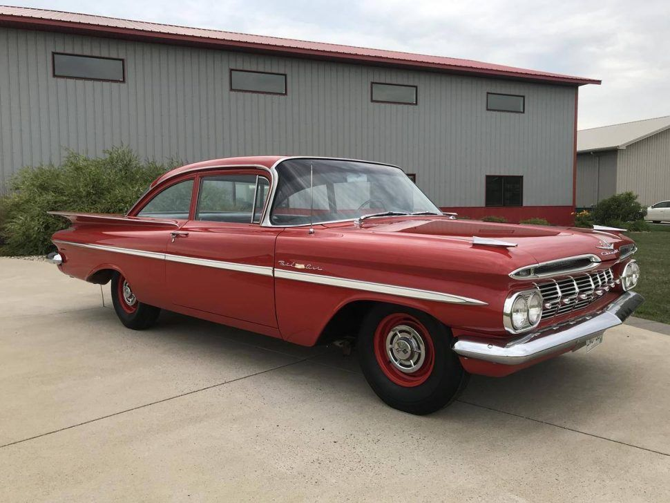 Hemmings Find Of The Day 1959 Chevrolet Bel Air With Images Chevy Bel Air Chevrolet Bel Air Chevrolet