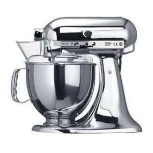 Kitchenaid 5ksm150psecr Robot Artisan Chrome Amazon Fr Cuisine