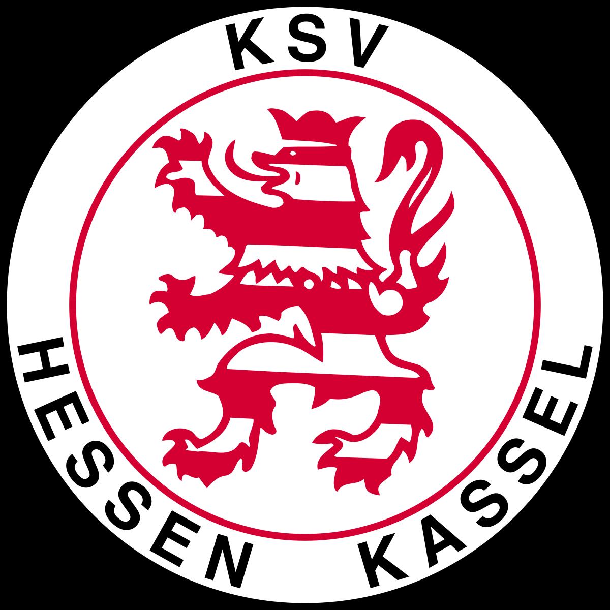 KSV Hessen Kassel of Germany crest. Soccer logo