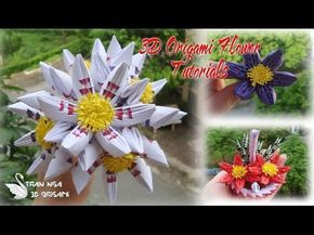 How to make 3d origami poinsettia diy poinsettia christmas how to make 3d origami poinsettia diy poinsettia christmas decoration tutorials youtube howtomake mightylinksfo