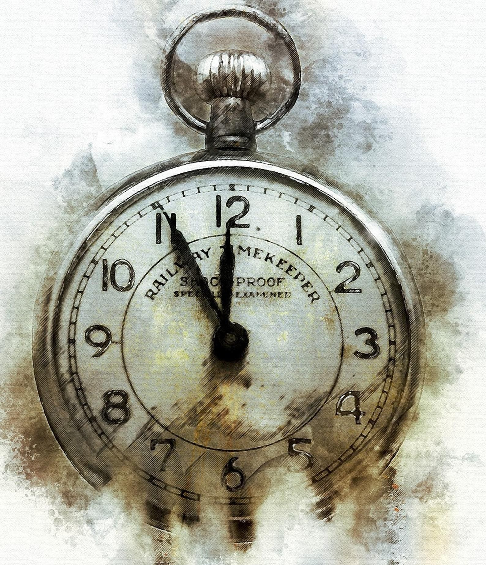 Time Fades In 2021 Paintings Art Prints Acrylic Prints Vintage Pocket Watch