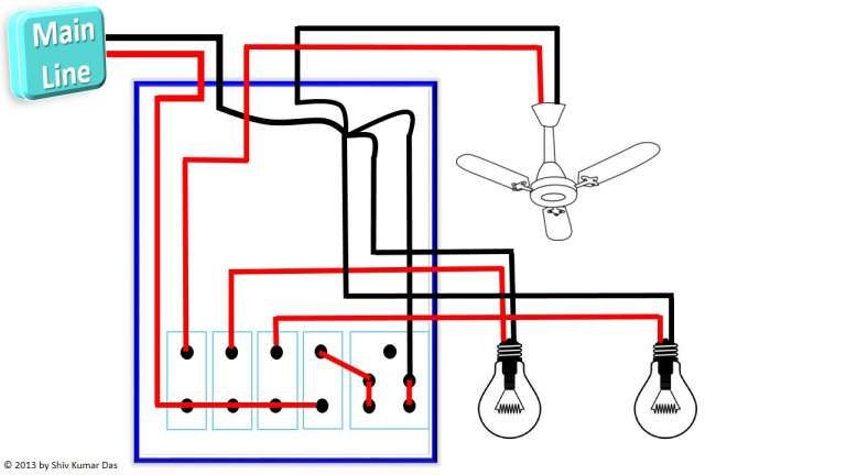 3 Phase Electrical Switchboard Wiring Diagram And Designing Electrical Control Board General Technic In 2020 Electrical Switches House Wiring Basic Electrical Wiring