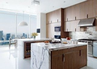 Contemporary Kitchen by Rockwell Group and Rockwell Group in New York, New York