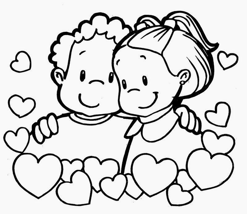 Dibujos de San Valentin para Colorear, parte 5 | bianca | Pinterest ...