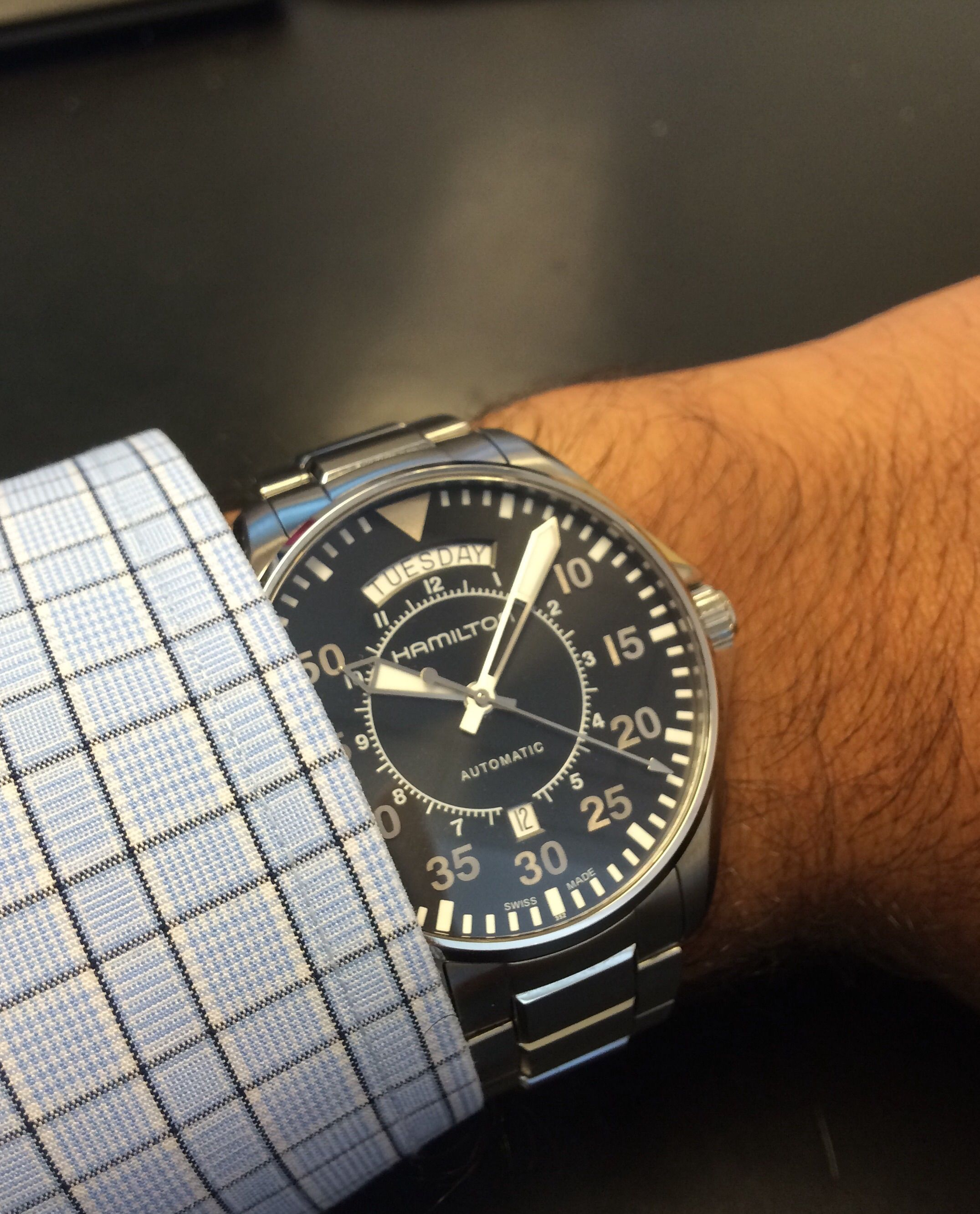 Hamilton Pilot Day Date (Interstellar)  39ea63c4f619
