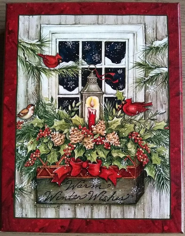 Brand New in the box by Lang Christmas Cards 18 cards and 19 ...