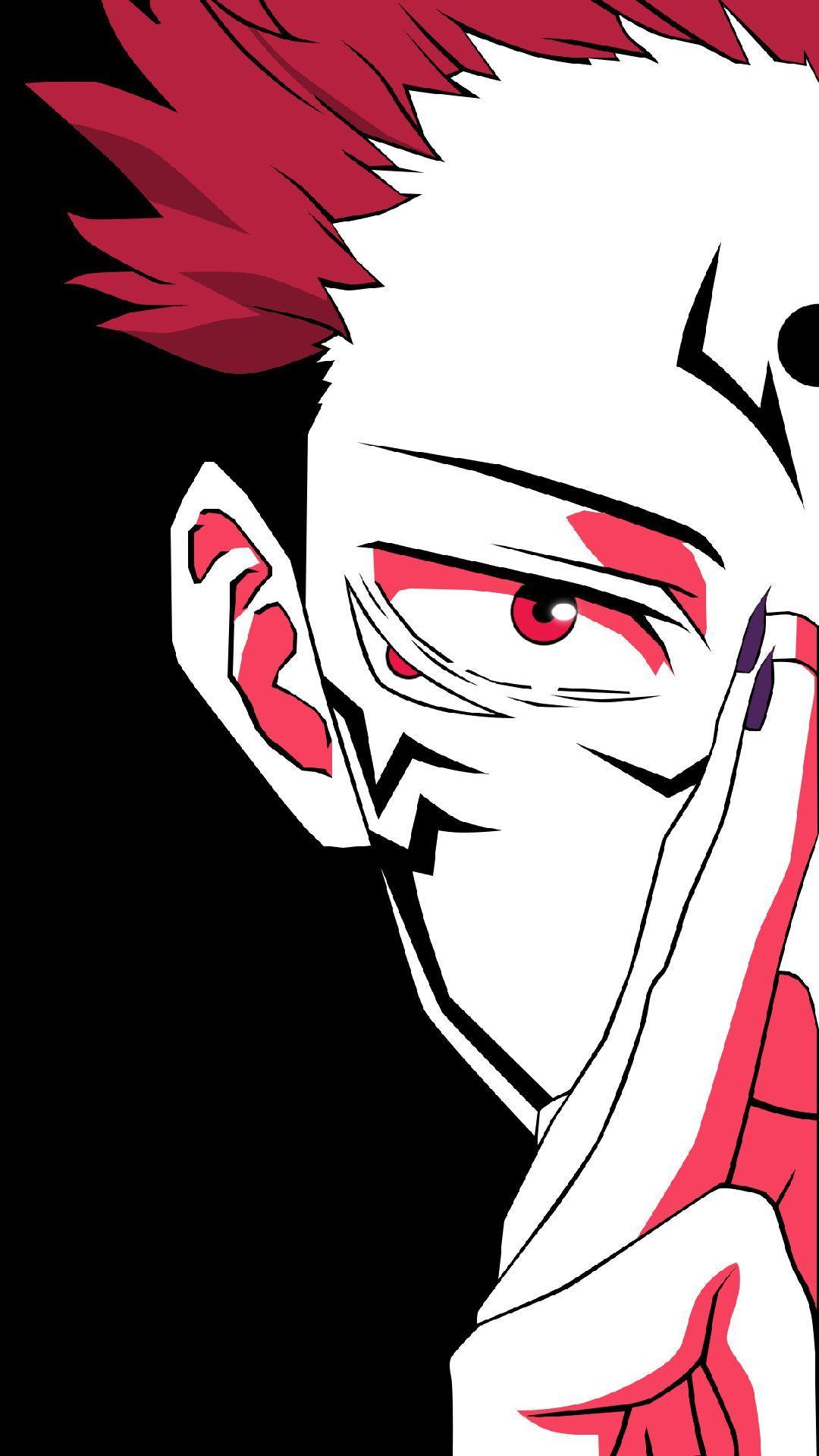 Sukuna And Yuji Itadori Jujutsu Kaisen In 2021 Cool Anime Pictures Jujutsu Anime Wallpaper