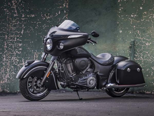Polaris Launches Indian Chieftain Dark Horse Cruiser Motorcycle