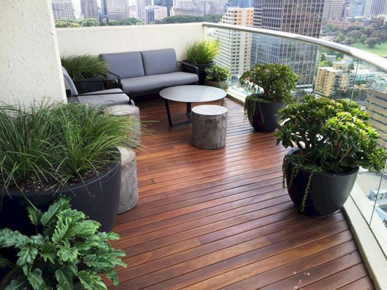 Perfect Small Balcony Garden Ideas Minimalis Desain Dan Tangga