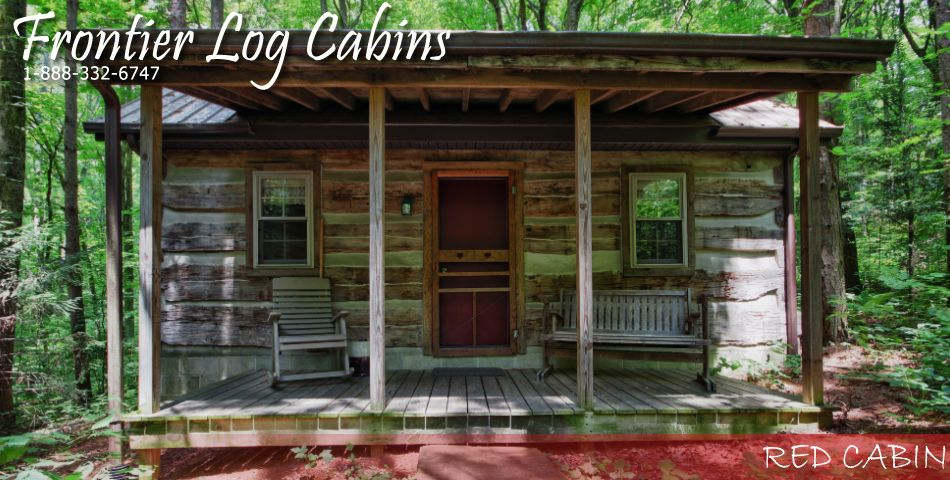 Hocking Hills Frontier Log Cabins Offers You A Secluded Location Where You Can Escape To Take A Break An Log Cabin Rentals Hocking Hills Cabins Small Log Cabin