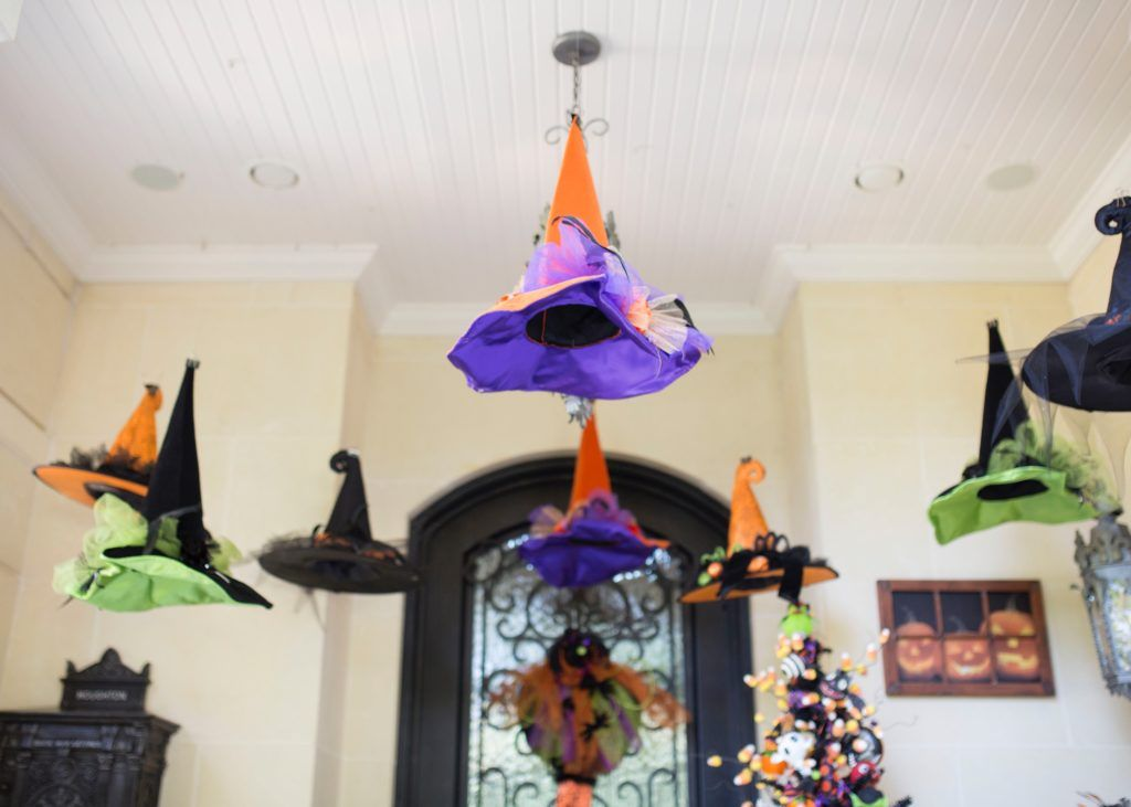 The Perfect Porch Accessories Halloween porch, Halloween fun and - witch decorations