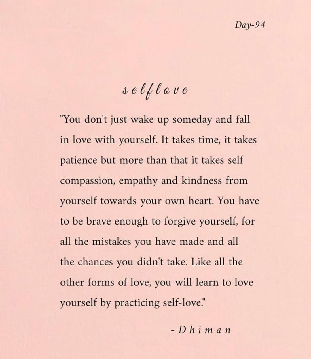 """Gabrielle Ortega   M.A. on Instagram: """"💗Friday Feels💗 • • There's not much more I can add to these profound and deeply true words written by @poetryofdhiman 🌅 This #selfcare and…"""""""
