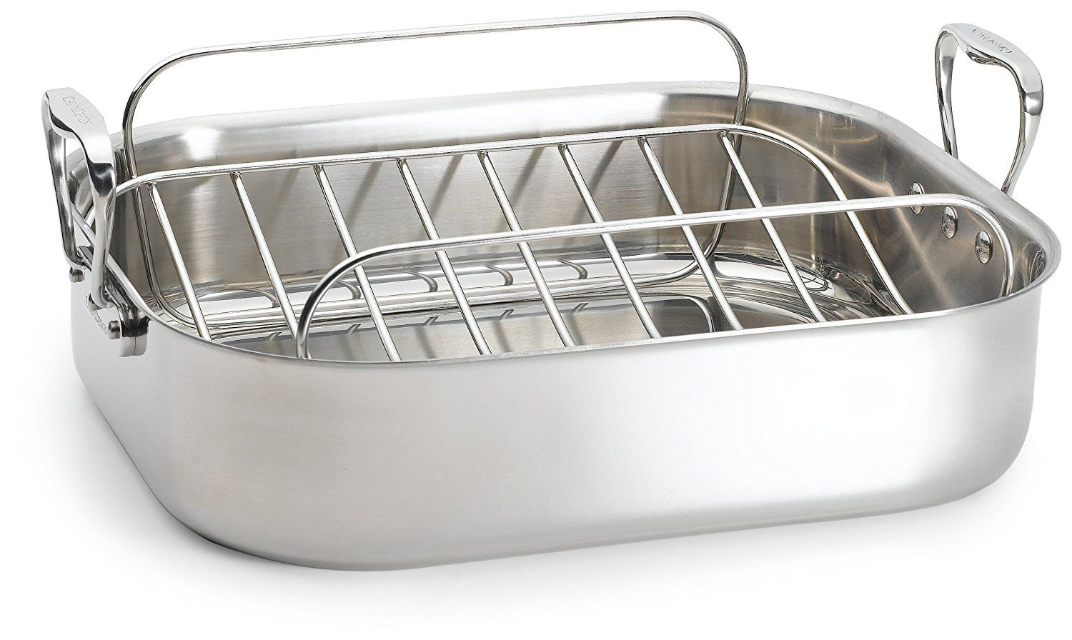 Chefs design 1675 inch stainless steel french roaster