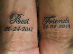 Pin By Chloe Taylor On Tattoos And Piercings Matching Best Friend Tattoos Best Friend Tattoo Quotes Bff Tattoos