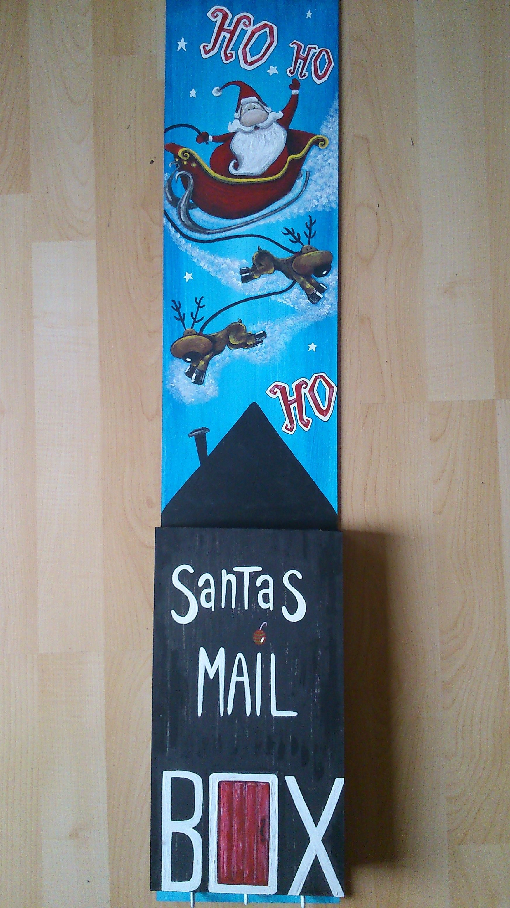 Santas Mailbox Perfect For Sending Off Letters To Santa And