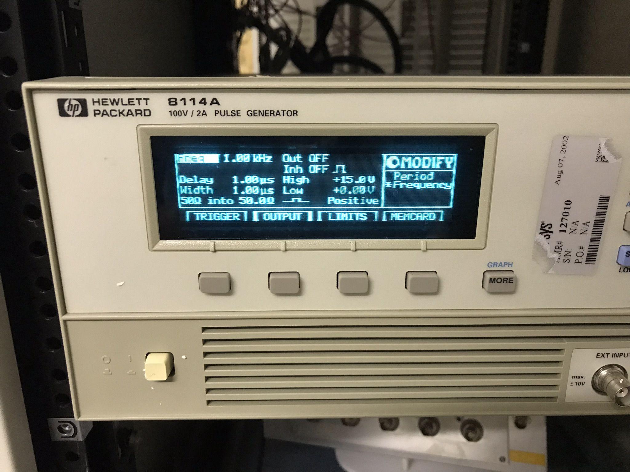 Agilent 100v 2a Pulse Generator Refurbished Get More