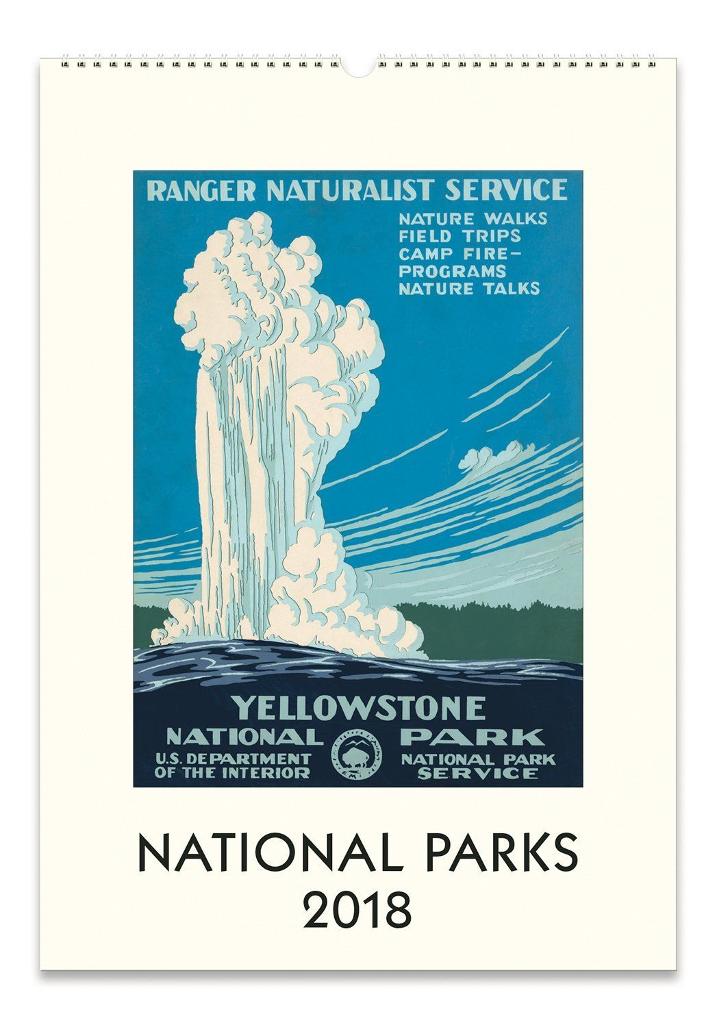 Amazon.com: Cavallini Papers National Parks 2018 Wall Calendar: Home ...