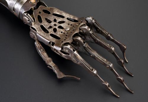 Antique Prosthetic Hand.