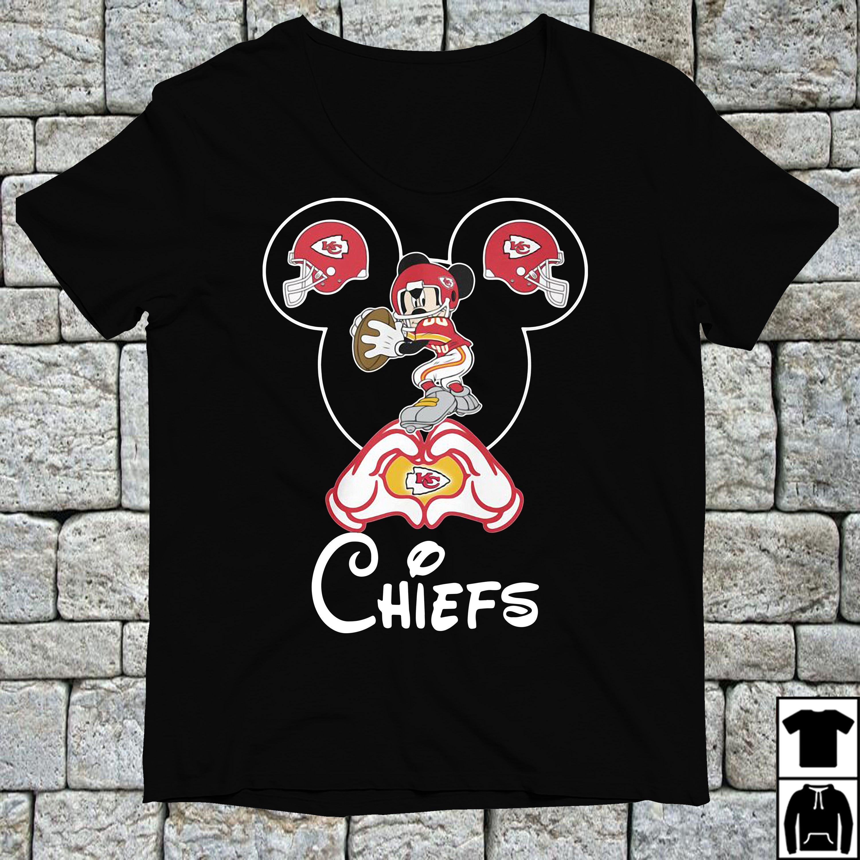 ff6cdf308a3 Mickey mouse Kansas City Chiefs shirt