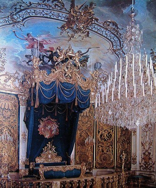 Chandelier Castles Interior Royal Bedroom Castle
