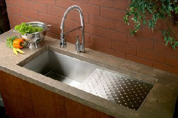 Elkay Efu411510db Avado Deep Single Bowl Kitchen Sink Stainless