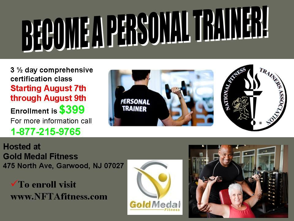 Coming To Garwood Nj Gold Medal Fitness Personal Trainer