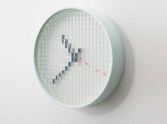 Translucent Pixels Wall Clock Design Diy Clock Clock