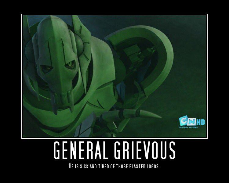 General Grievous Meme Star Wars Humor Star Wars Memes Star Wars Baby