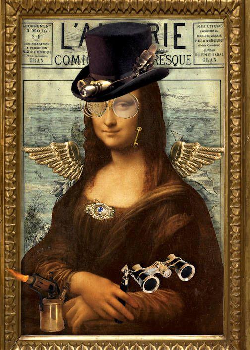 Steampunk Mona