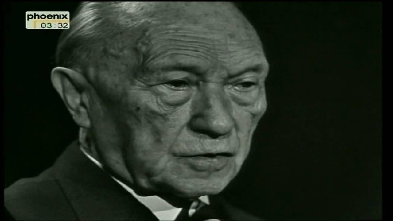 Interview mit Konrad Adenauer- 3.Teil