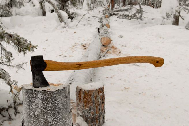 Gransfors Scandinavian Forest Axe 430 Leather Sheath Guaranty Sweden Made Axe Bushcraft Acadia National Park Camping