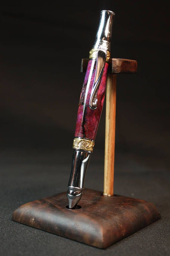 Steampunk Bolt Action Pen with Maple Wood Free Shipping in USA