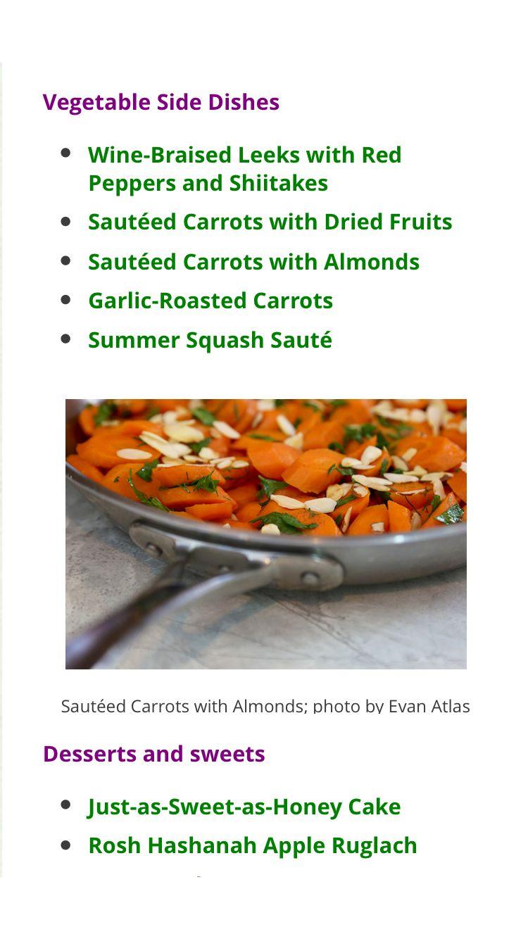 Vegan Jewish New Year Recipes Recipes Braised Leeks Vegetable Side Dishes