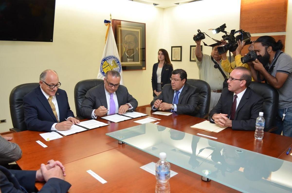 UACJ y SECYD firman convenio de colaboración interinstitucional | El Puntero