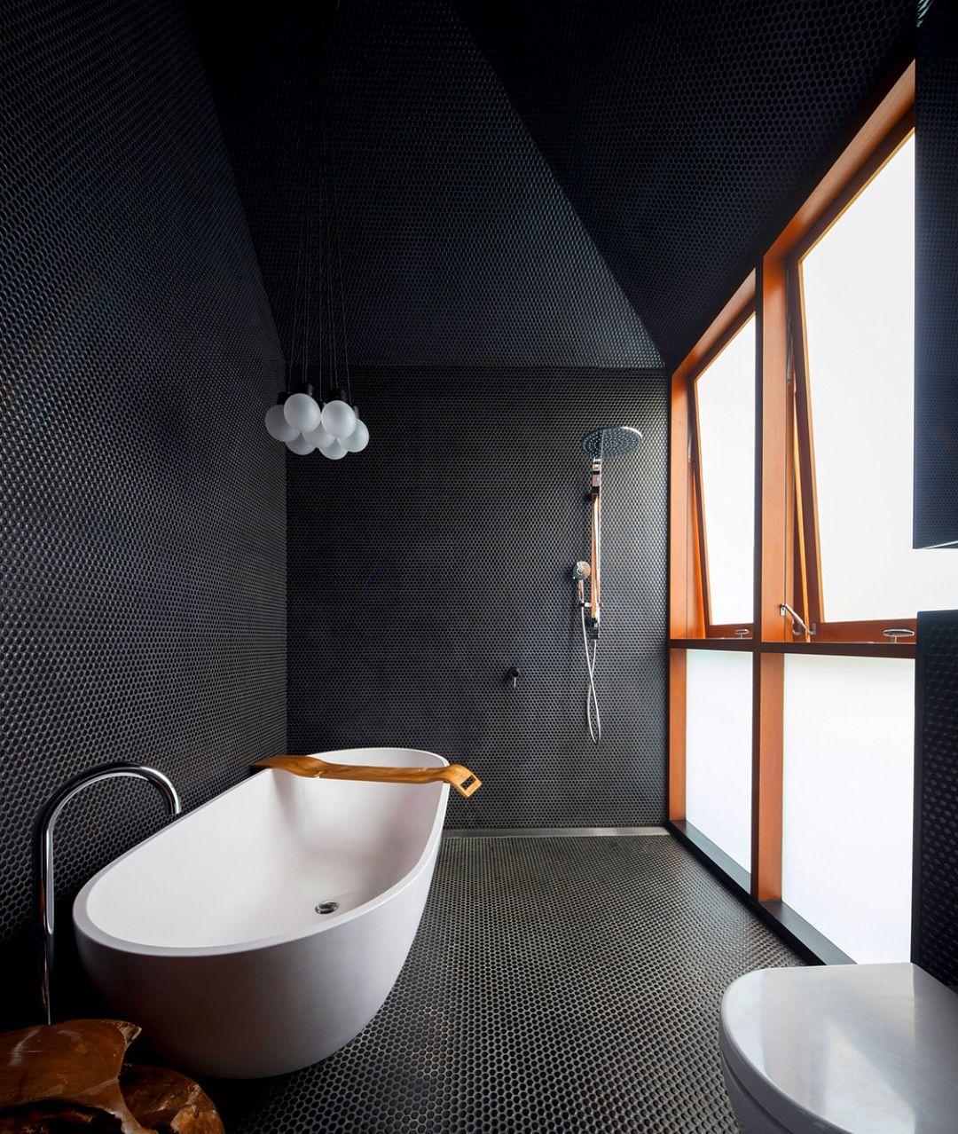 Fascinating 28 Home Decor Product Black Bathroom Dark Interior Design Simple Bathroom Designs